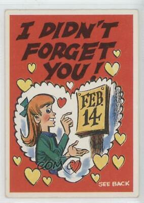 1960 Topps Funny Valentines A #32a I Didn't Forget You Trading Card Singles Non-sport Trading Cards Non-sports Card 9bq Superior Performance