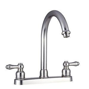Image Is Loading UNIVERSAL Replacement Faucet J Spout RV Kitchen Faucet