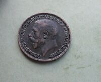 George V. Halfpenny 1924, Excellent Condition