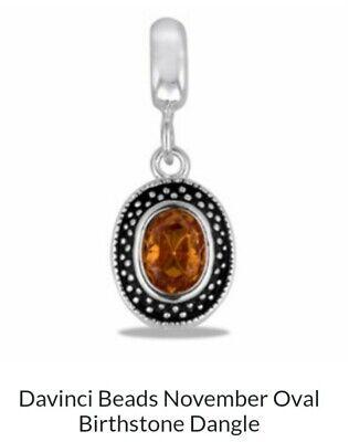 DaVinci Beads October Dangle Oval Jewelry DB45-7    eBay