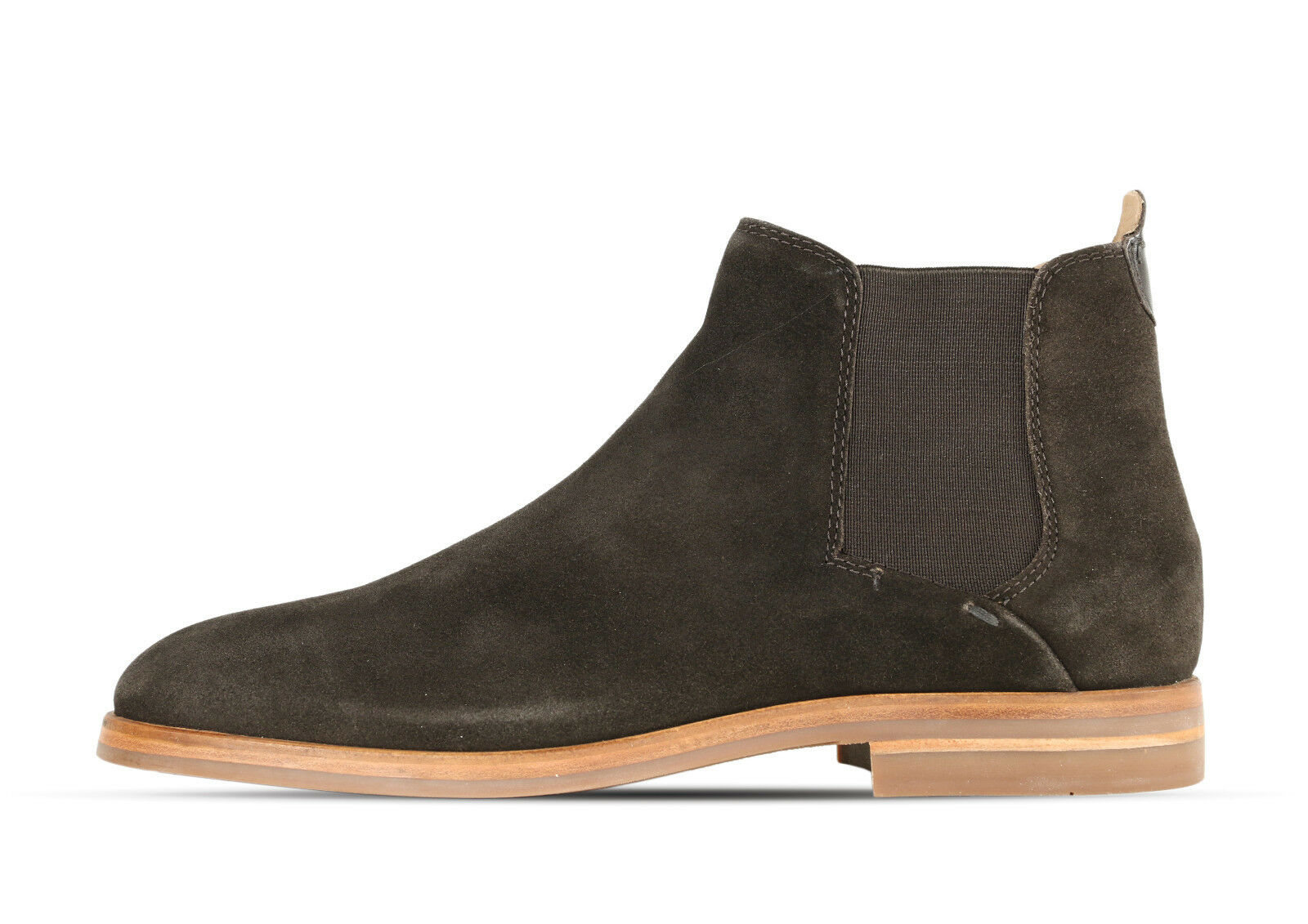 Hudson Tonti Suede marrón z504205-marrón-caballeros-cuero + nuevo +