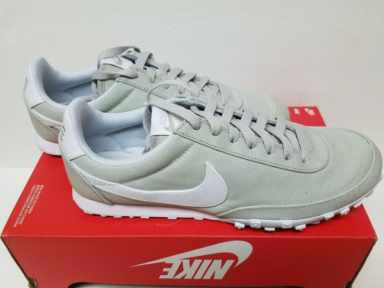 RARE Nike Waffle 11, Racer '17 TXT Sz 11, Waffle 12, 12.5 & 14 Pale Grey / White Platinum 91336c