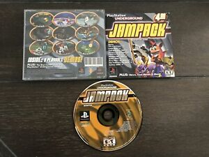 PlayStation-Underground-Jampack-Winter-2000-Playstation-1-PS1-Complete-CIB
