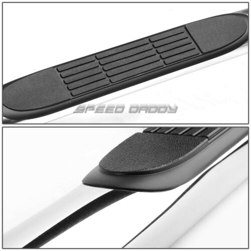 """FOR 04-14 COLORADO//CANYON CREW CAB CHROME 3/"""" SIDE STEP NERF BAR RUNNING BOARD"""