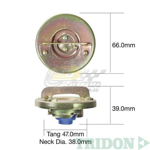 TRIDON FUEL CAP NON LOCKING FOR Ford Courier SGC 11//78-02//82 1.8L VC TFNL217
