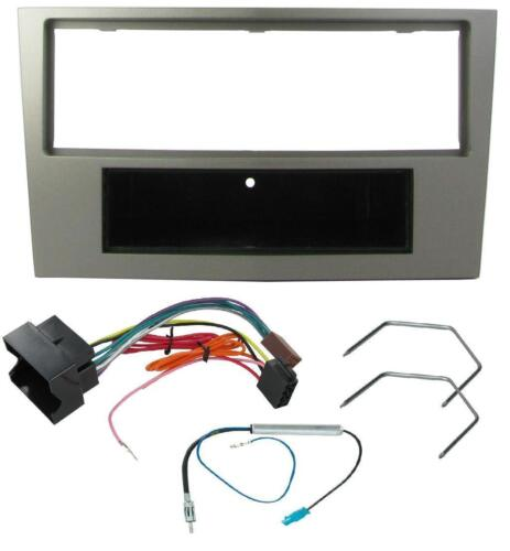 VAUXHALL VECTRA 2005 ONWARD CD RADIO FACIA FASCIA SURROUND KIT FP-19-01 GUNMETAL