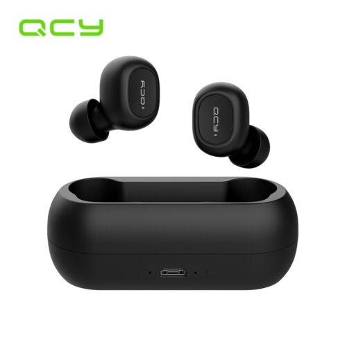 Xiaomi QCY T1C Mini Dual V5.0 Wireless Earphones BT Earbuds Charging box G5H3