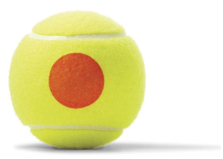 Wilson Starter arancia x da 48 palle da x tennis 108e54
