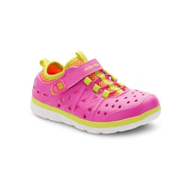 Stride Rite Pink Phibian Water Shoes 6M