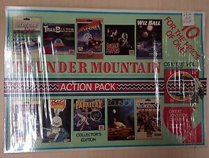 Details about Commodore 64 C64 Game THUNDER MOUNTAIN ACTION PACK vol 1 10  Games Complete CIB