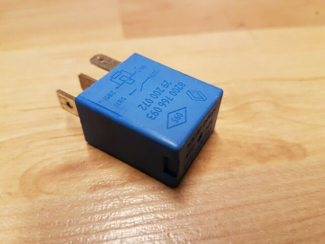 667-Renault 2001-2014 Multi-Use 4-Pin Blue Relay 8200766093 29200072 20A 12V