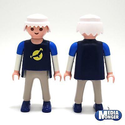 playmobil® AbenteuerCitylife Mann in Longsleeve blau mit LogoHose grau