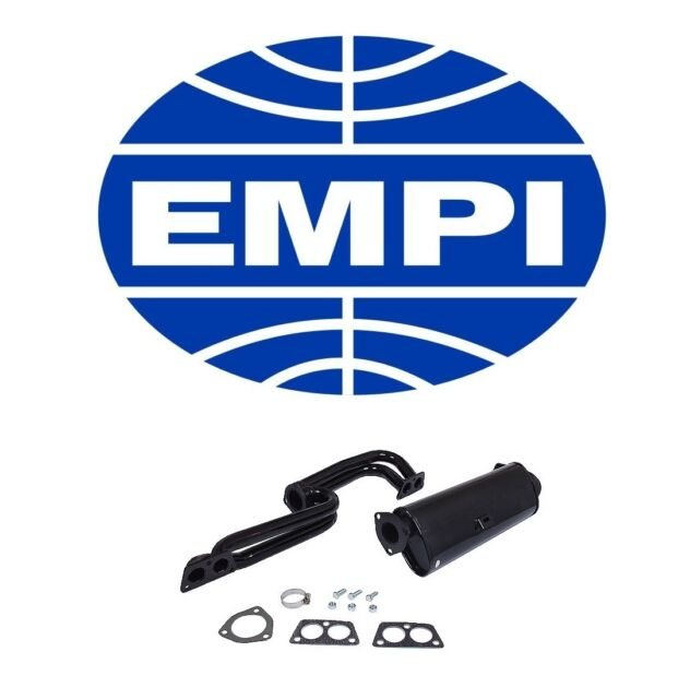 Exhaust System Kit Empi VW7802026 fits VW Transporter 1972-1973 1.7L-H4
