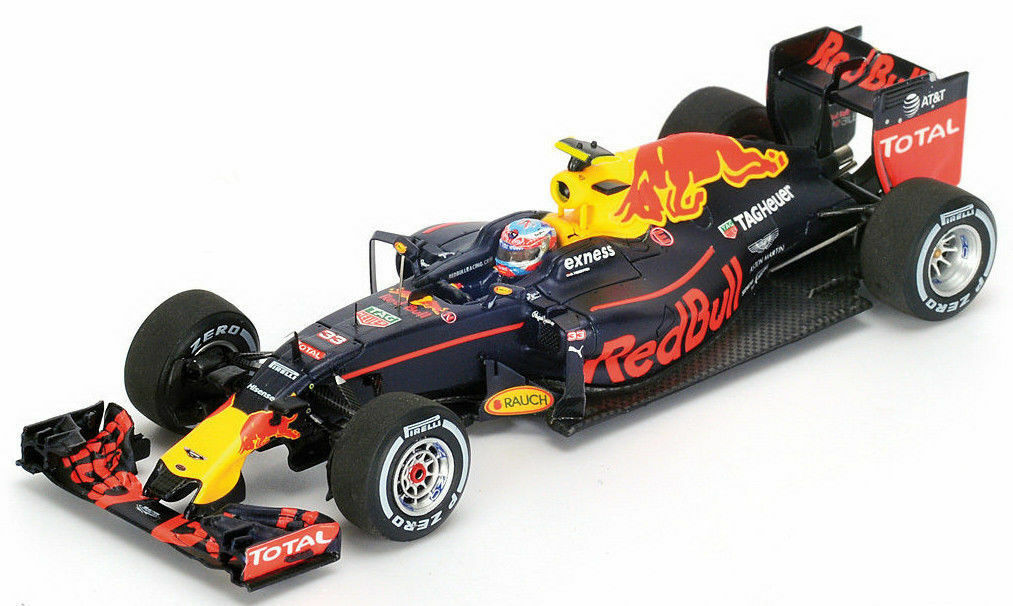 Red Bull F1 Rb12 Tag Heuer Winner Spanish Gp 2016 Verstappen Spark 1 43 S5019 Mo