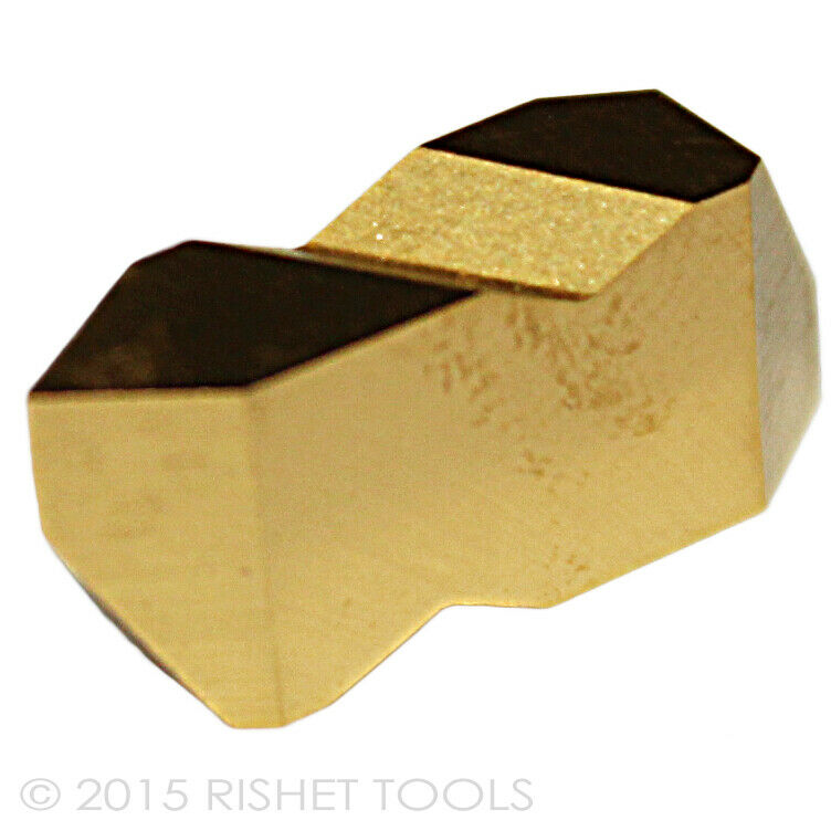 RISHET TOOLS NTP 2R C5 Multi Layer TiN Coated Carbide Inserts 10 PCS