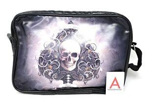 Side Bag Ace of Spades Borsa Tracolla Fantasy Nemesis Now Asso di Spade Teschio