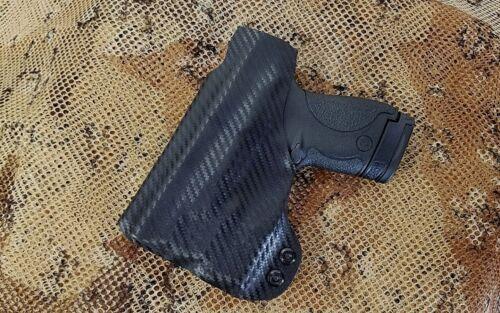 Gunner/'s Custom Holster fits M/&P Shield w// Streamlight TLR-6  IWB tuckable