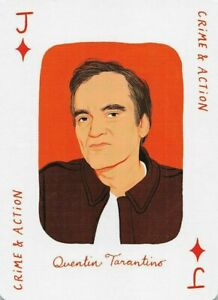 Quentin Tarantino Crime & Action Movie Genius Single Swap Playing Card  - 1 Card
