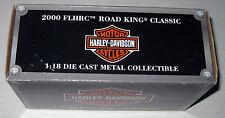2000 FLHRC Road King Classic 1:18 Die Cast Metal  Harley Davidson Motorcycle