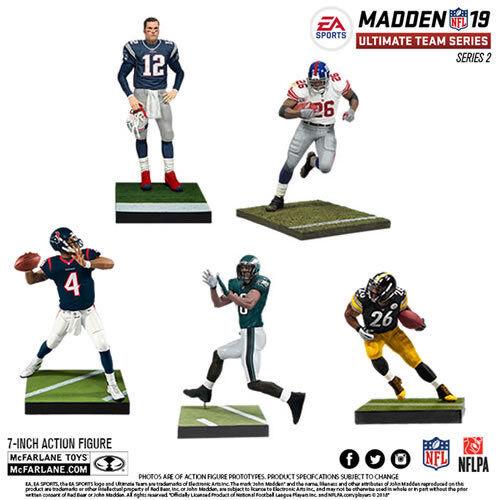 EA Sports NFL Madden Ultimate Team 19 Series 02 Figures - Assorted Case SEALED