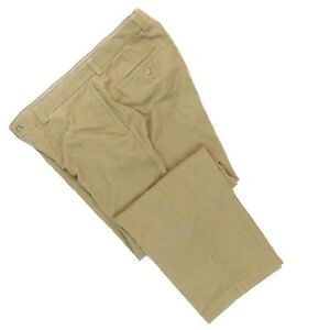 Tommy-Bahama-Men-039-s-Silk-amp-Cotton-Blend-Beige-Corduroy-Pants-Size-36-x-32