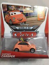 "2013 Disney Pixar Cars 2: CARTNEY CARSPER (#1/9) Race Fan Series ""World of Cars"""