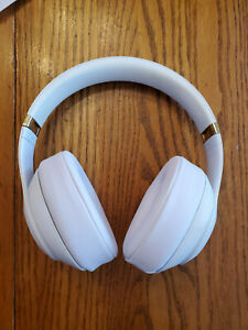 Beats By Dr Dre Studio 3 0 Wireless Over Ear Headphones White Excellent Ebay