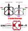 thumbnail 10 - PROMEND-Carbon-Tube-Titanium-Bicycle-Flat-Pedal-MTB-Road-Bike-Pedal-3-Bearings