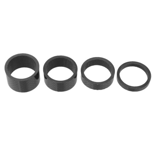 4Pcs Headset Vorbau Abstandshalter Set Headset Spacer 5mm 10mm 15mm 20mm