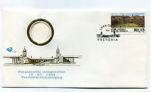 South-Africa-Nelson-Mandela-Presidential-Inauguration-1994-Fdc-Used-Madiba