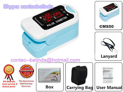 Fingertip Pulse Oximeter, SpO2 Moniteur LED Display, Soins à domicile,oxymetre