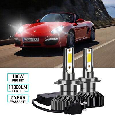 Porsche Boxster 986 H7 H7 501 100w Clear Xenon HID High//Low//Side Headlight Bulbs