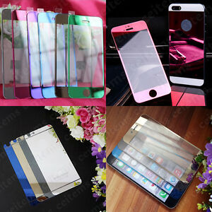 Mirror-Tempered-Glass-Screen-Protector-Film-For-iPhone-7-7-Plus-6-6s-Plus-5-5s