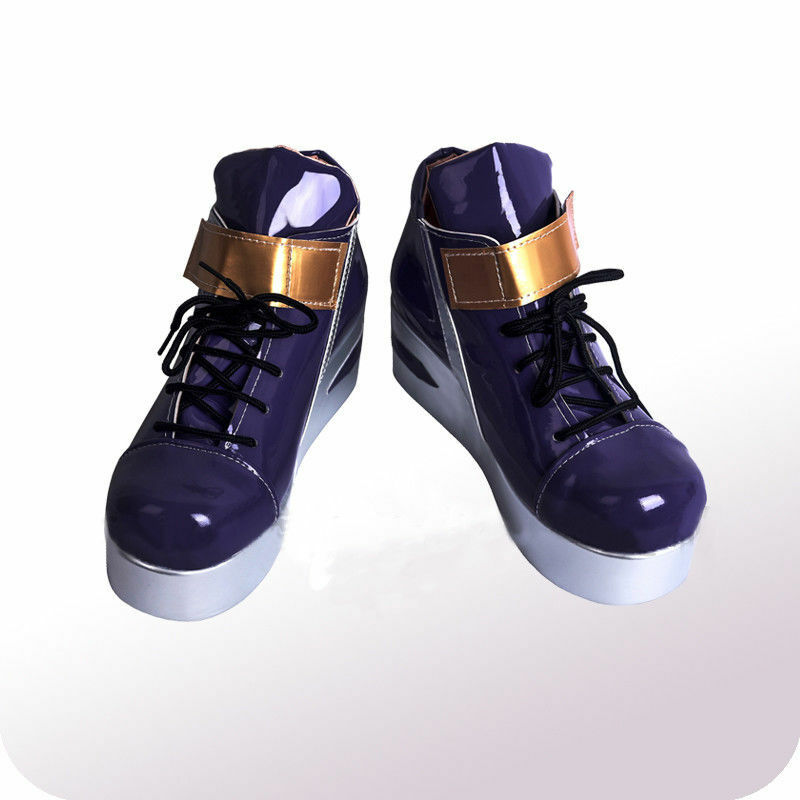 LOL League of Legends KDA Akali Cosplay Shoes Boots Custom Made HH.1052