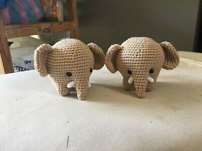 Toy Elephant Pattern #606   Crochet Patterns   300x400