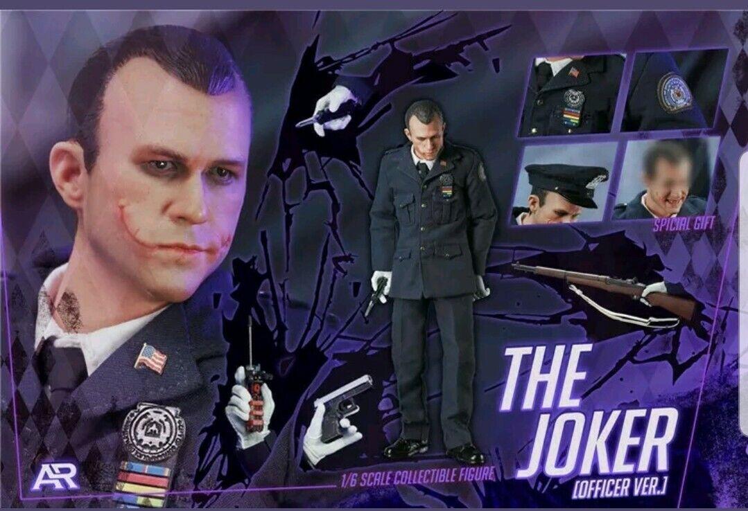 1 6 ARJuguetes AR-003 DC El Caballero De El Joker versión oficial de policía Figura De Acción