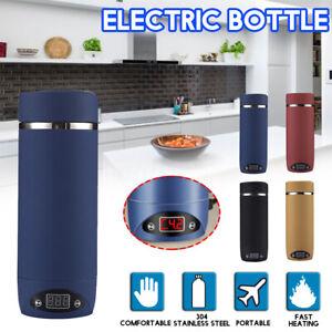 420ML-Stainless-Steel-Electric-Bottle-Portable-Travel-Water-Boiler-Tea-Kettle