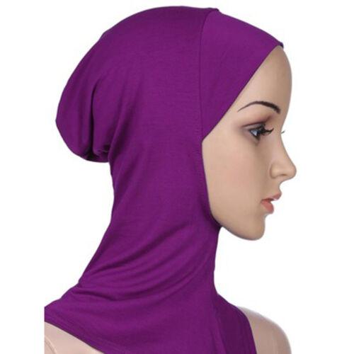 Hijab Ninja Underscarf Head Neck Cover Bonnet Hat Cap Under Scarf Fashion