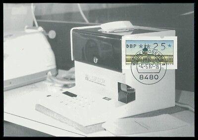 Berlin 1948-1990 Automatenbriefmarken Berlin Atm Mk Schloss Charlottenburg Maximumkarte Carte Maximum Card Mc /m1179 Belebende Durchblutung Und Schmerzen Stoppen