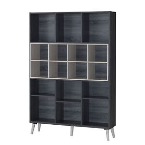 Scandinavian-Display-Shelves-Storage-Bookshelf-Multi-Function-Cabinet