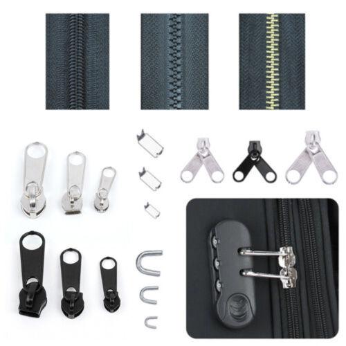 84 Pcs//Set Zip Head Tool Universal Repair Replacement Kits Pieces Zipper Fixer