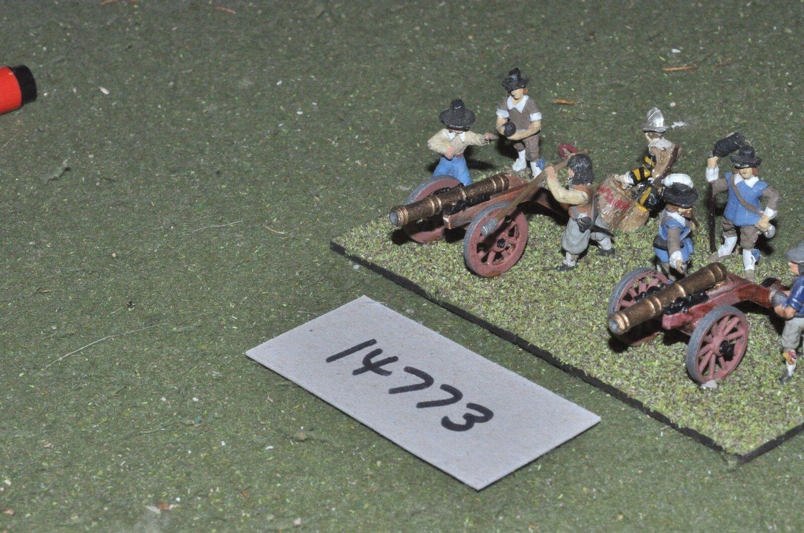 25mm ECW   english - civil war artillery 2 guns - art (14773)
