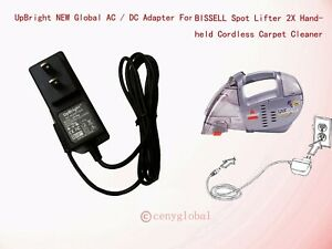 AC-Adapter-Car-For-BISSELL-Spot-Lifter-2X-Carpet-essential-Handheld-Cleaner-1719