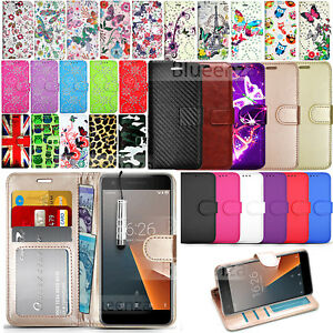sports shoes b0719 01ecd Details about For Vodafone Smart V8 VFD 710 Wallet Leather Case Phone Cover  + Screen Protector