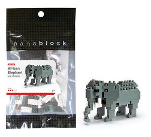 *NEW* NANOBLOCK NBC_035 AFRICAN ELEPHANT