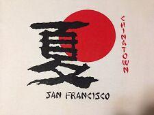 VINTAGE SAN FRANCISCO CHINATOWN T SHIRT MEDIUM