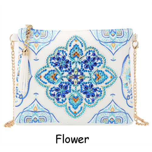 Chain Diamond Painting Wallet Coin Purse Shoulder Bag Special Shape Rhinestones