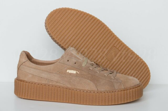 best service 7e651 2195c NEW PUMA FENTY BY RIHANNA CREEPERS SUEDE OATMEAL MEN'S SHOES ALL SIZES