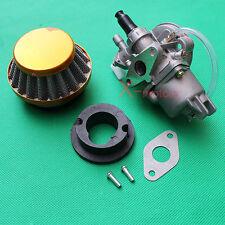 Carburetor Carb Air Filter assy Stack 47cc 49cc Mini Moto Dirt pocket bike ATV