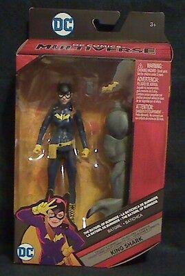 """DC Comics Multiverse 6/"""" Inch King Shark Wave Burnside Batgirl Loose Complete"""